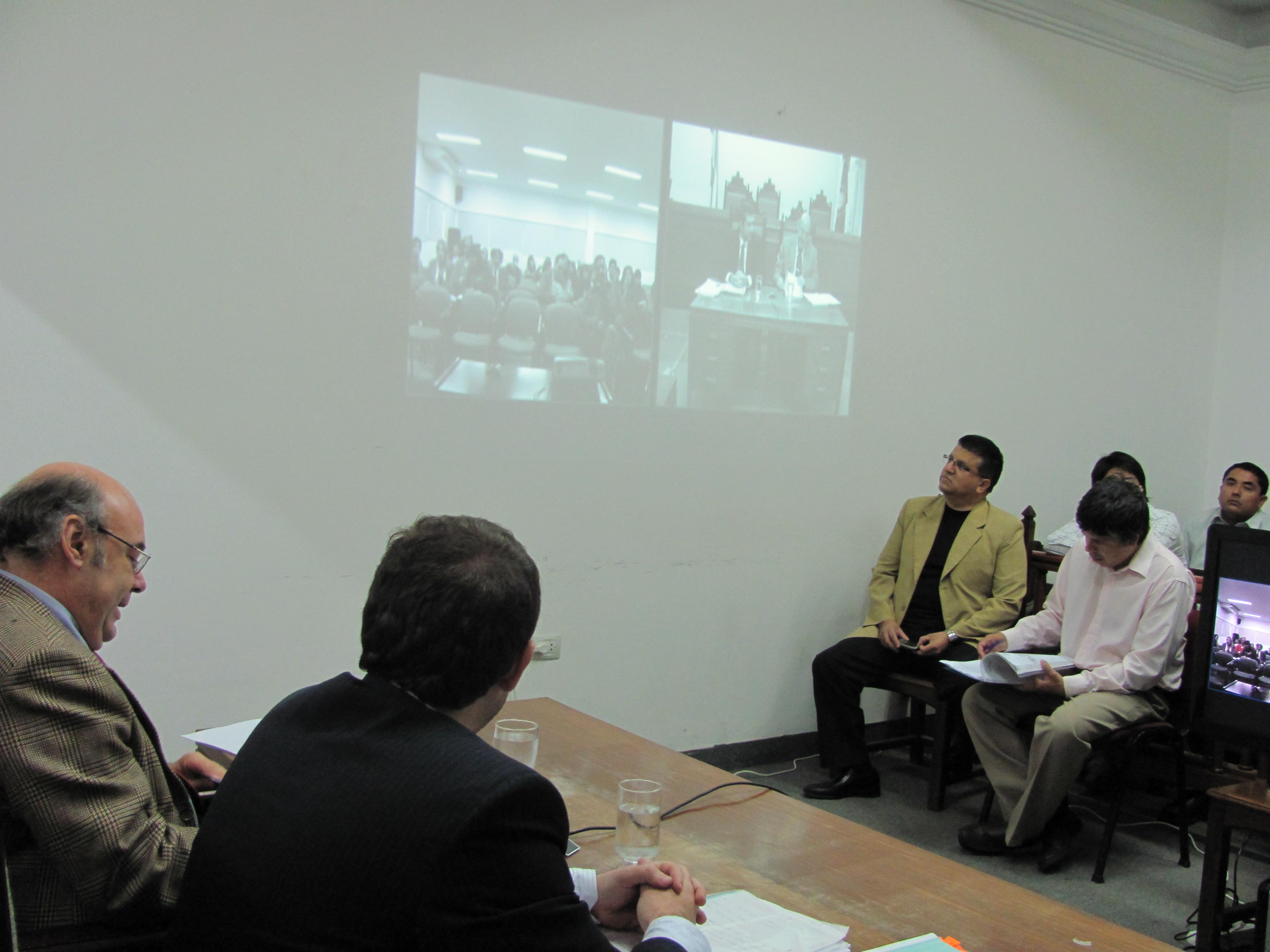 Album de Fotos: Videoconferencia desde Tartagal sobre reforma del Código Procesal Penal