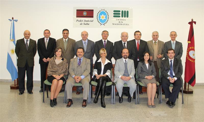Album de Fotos: Autoridades de la Escuela de la Magistratura del Poder Judicial de Salta