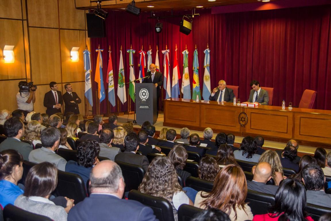La obra fue dirigida por los jueces de Corte Guillermo Catalano y Abel Cornejo.