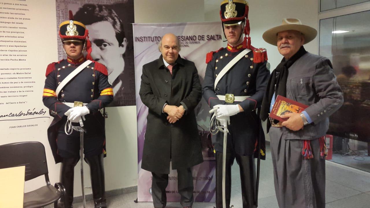 Abel Cornejo disertó en el marco del Ciclo de Conferencias organizadas por el Instituto Güemesiano de Salta.