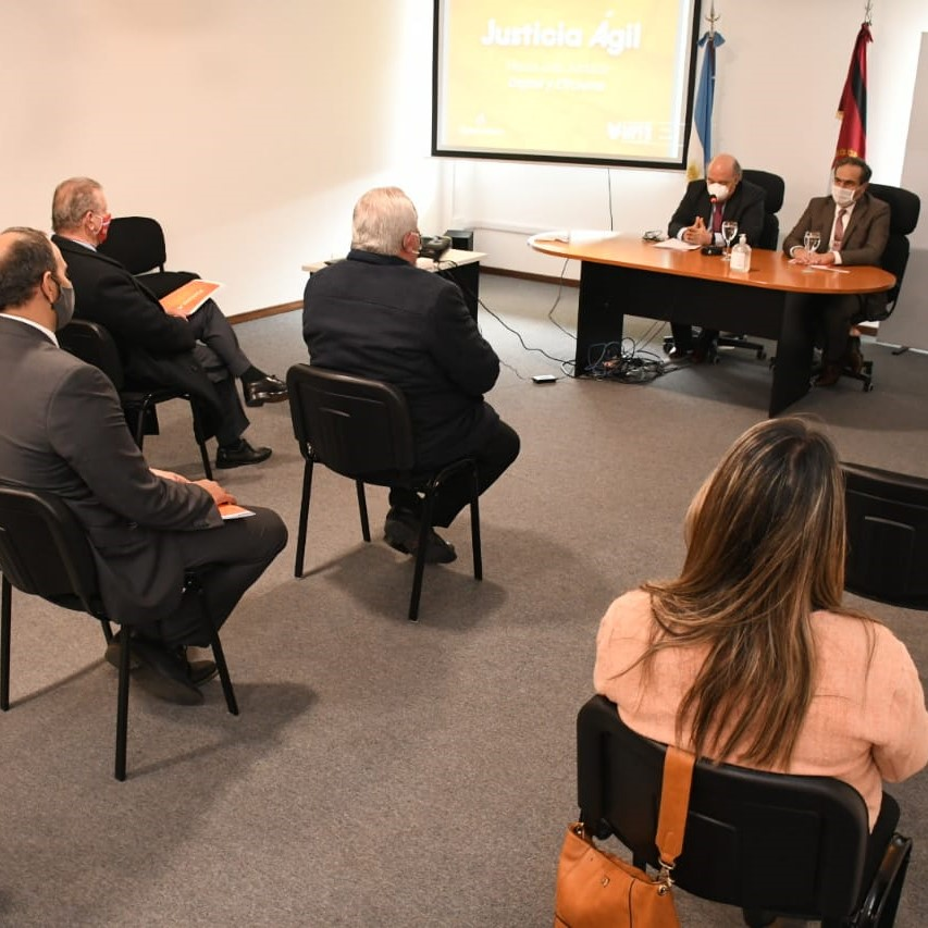"""Album de Fotos: Presentación del Proyecto """"Justicia Ágil"""""""