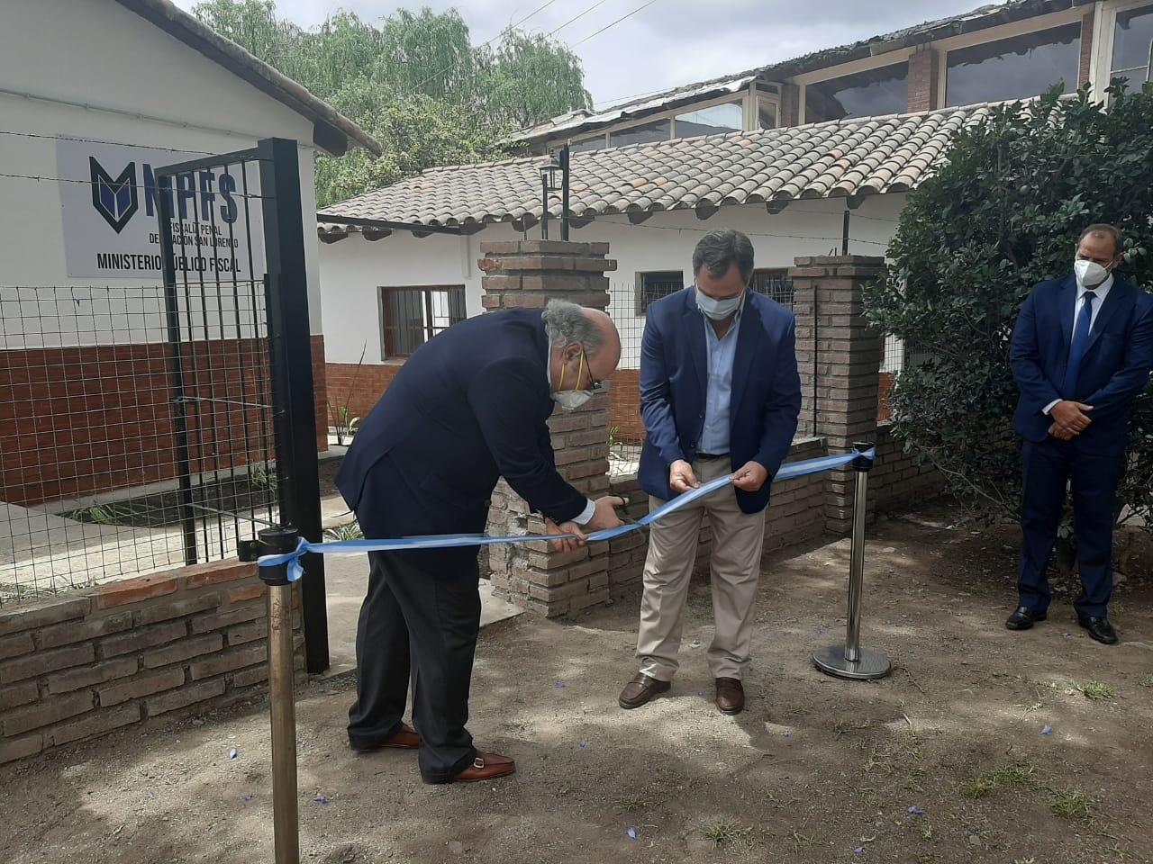 Album Inauguración de la Delegación Fiscal de Villa San Lorenzo