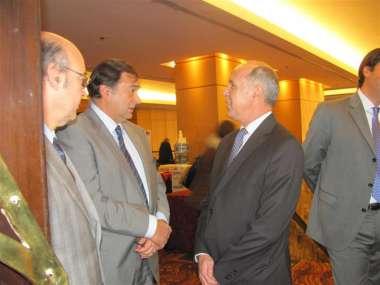 Foto: Ricardo Lorenzetti, Abel Corenjo y Miguel Isa.
