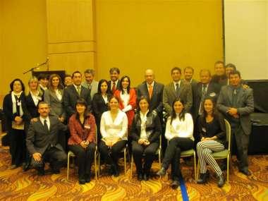 Foto: Comité organizador y personal que hizo posible las VII Jornadas de Ambiente