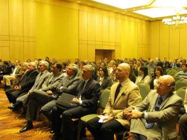 Foto: Jueces de Corte se sumaron al auditorio de las Jornadas sobre Medio Ambiente.