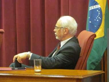 Foto: Luis Lozano, presidente de JU.FE.JUS., pasó por Salta para participar del Congreso