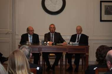 Foto: Abel Cornejo, Manuel Solanet y Gregorio Badeni