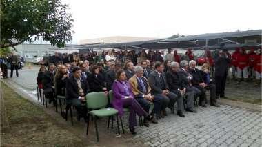 Foto: Autoridades de los difertentes poderes del Estado participaron del acto