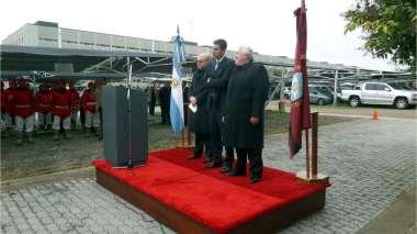 Foto: Guillermo Catalano, Juan Manuel Urtubey y Abel Cornejo