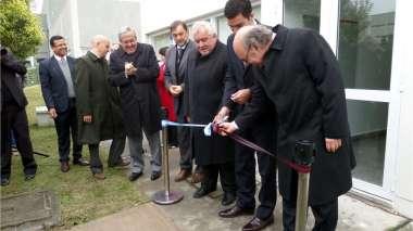 Foto: Con el corte de cinta quedaron formalmente habilitadas las instalaciones