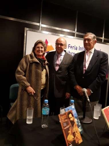 Foto: El Dr. Abel Cornejo compartió junto a invitados un momento de camaradería