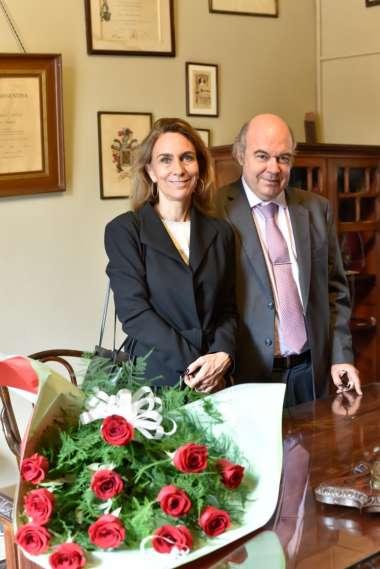 Foto: Abel Cornejo junto a su esposa Milagros Patrón Costas