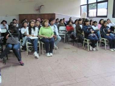 """Foto: """"Justicia sale a las Escuelas"""" en la escuela Uriburu de Tartagal"""