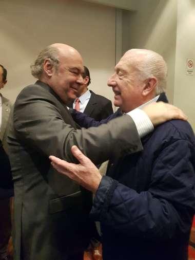 Foto: Abel Cornejo junto a Juan Adrián Cornejo