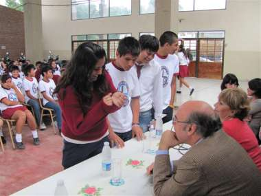 Foto: Alumnos escuela Reyes - Tartagal