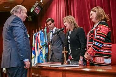 Foto: El Dr. Abel Cornejo toma posesión del cargo de Procurador General de la Provincia