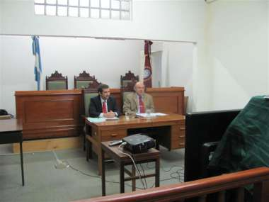 Foto: La Reforma del Código Procesal Penal fue el tema de la videoconferencia