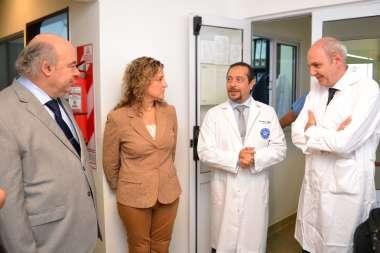 Foto: Dr. Abel Cornejo- Dra. María Luján Sodero- Ing. Pedro Villagrán- Dr. Manuel Crespillo Márquez