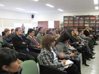 Foto: Asistentes al acto de lanzamiento del Equipo Interdisciplinario de Violencia