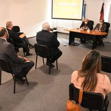 """Foto: Presentación """"Justicia Ágil"""""""