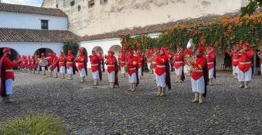 """Foto: Banda Militar """"Coronel Bonifacio Ruíz de los Llanos"""""""