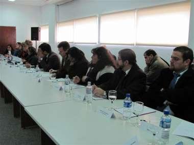 Foto: Jueces de familia estuvieron entre los presentes