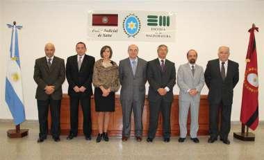 Foto: Abel Cornejo y Fabián Vittar, jueces de Corte, acompañados por Directores.