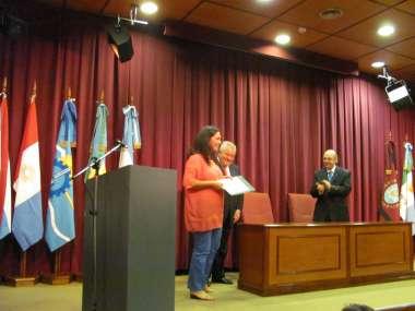 Foto: Se hizo entrega del Premio al Mérito Judicial