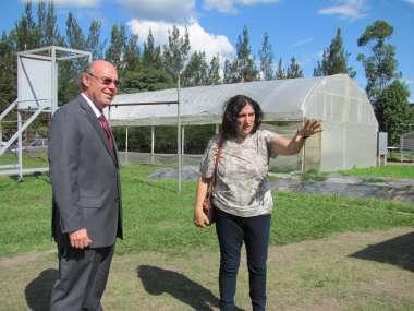 Foto: El predio de la UNSa es el lugar donde se desarrollan los proyectos