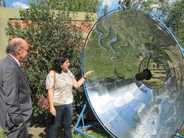 Foto: Paneles solares para ahorro de energía