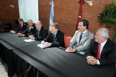 Foto: Cornejo destacó la articulación con organismos para la organización