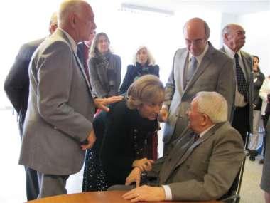 Foto: Familiares y amigos brindaron su reconocimiento al Dr. Ricardo Reimundín