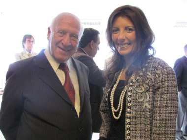 Foto: La hija del Dr. Ricardo Reimundín participó del homenaje