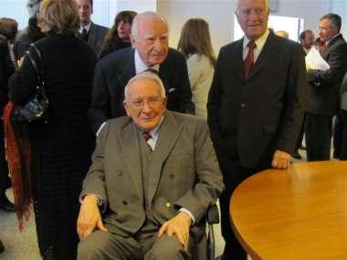 Foto: Familiares y amigos reconocieron la labor del jurista salteño