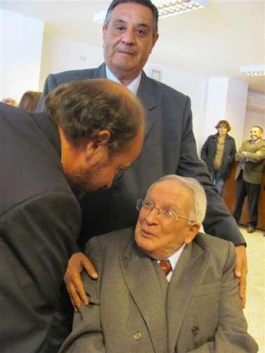 Foto: El Dr. Guillermo Alavila se sumó al reconocimiento efectuado por el Poder Judicial