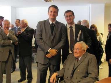 Foto: La jornada sirvió para el reencuentro de los amigos del destacado magistrado