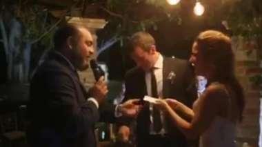 El empleado Paz en la boda Ortega-Carbonell (h). CAPTURAS DE VIDEO