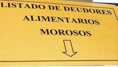 El registro de deudores alimentarios de Ciudad Judicial