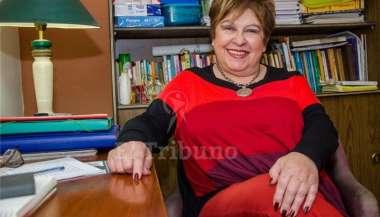 Lucrecia Miller, titular de la Fundación Papis. Pablo Yapura.