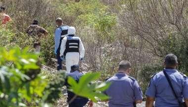 Personal del CIF y la policía busca el cadáver de Guantay.