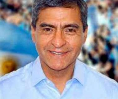 Intendente de Cafayate Fernando Almeda.